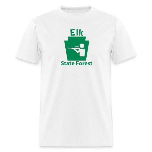 Elk State Forest Keystone Hunt - Men's T-Shirt