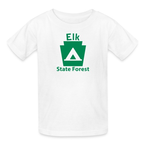 Elk State Forest Keystone Camp - Kids' T-Shirt