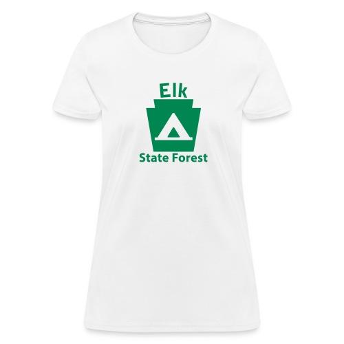Elk State Forest Keystone Camp - Women's T-Shirt