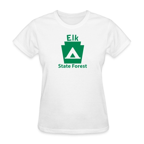 Elk State Forest Keystone Camp - Women's T-Shirt