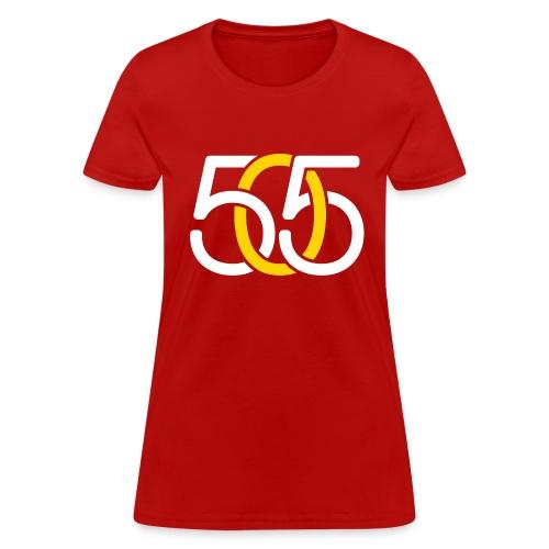 W, 505 White & Yellow Link, Standard - Women's T-Shirt