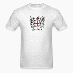 Light oxford London Crest T-Shirts