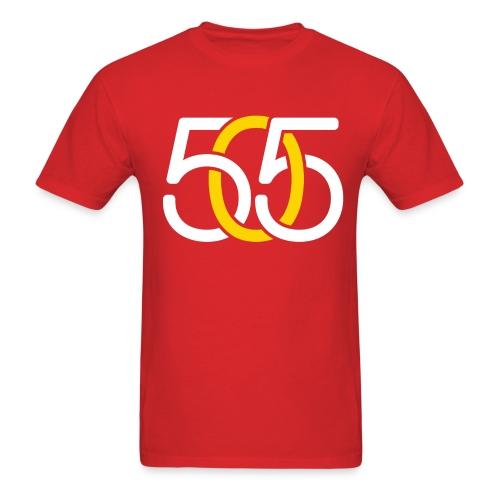 M, 505 White & Yellow Link, Standard - Men's T-Shirt