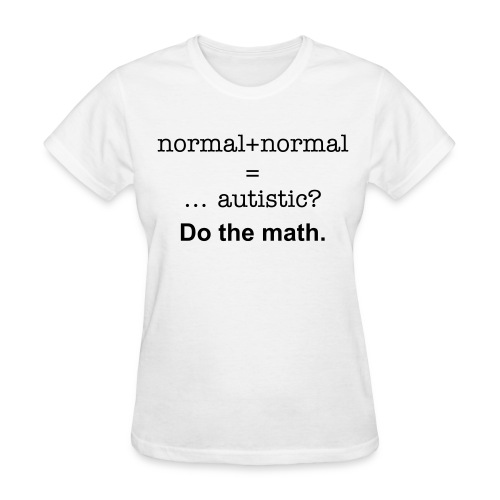 Genetics and Autism (womens) - Women's T-Shirt