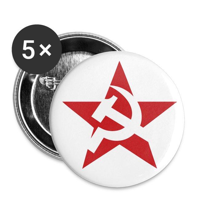 Soviet Star Buttons