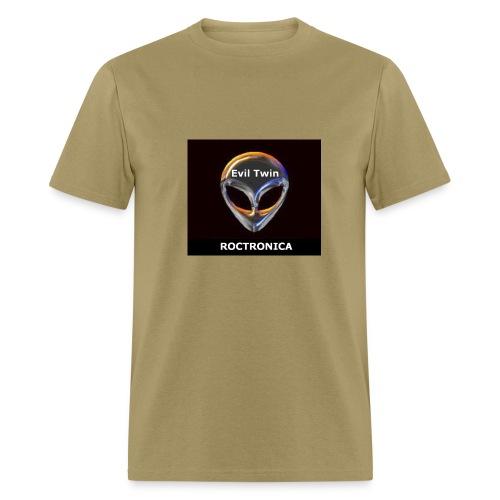 Khaki Chrome Evil Twin - Men's T-Shirt