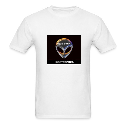 White Chrome Evil Twin - Men's T-Shirt