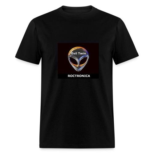 Black Chrome Evil Twin - Men's T-Shirt