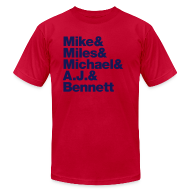 T-Shirts ~ Men's T-Shirt by American Apparel ~ Article 4987687