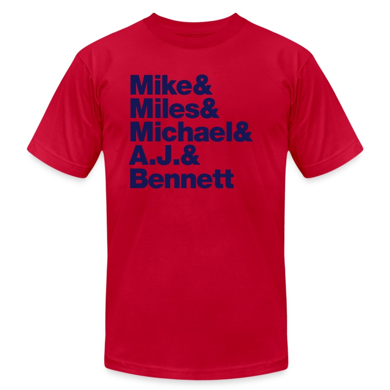 david_miles - Men's T-Shirt by American Apparel