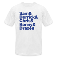 T-Shirts ~ Men's T-Shirt by American Apparel ~ Article 4987688