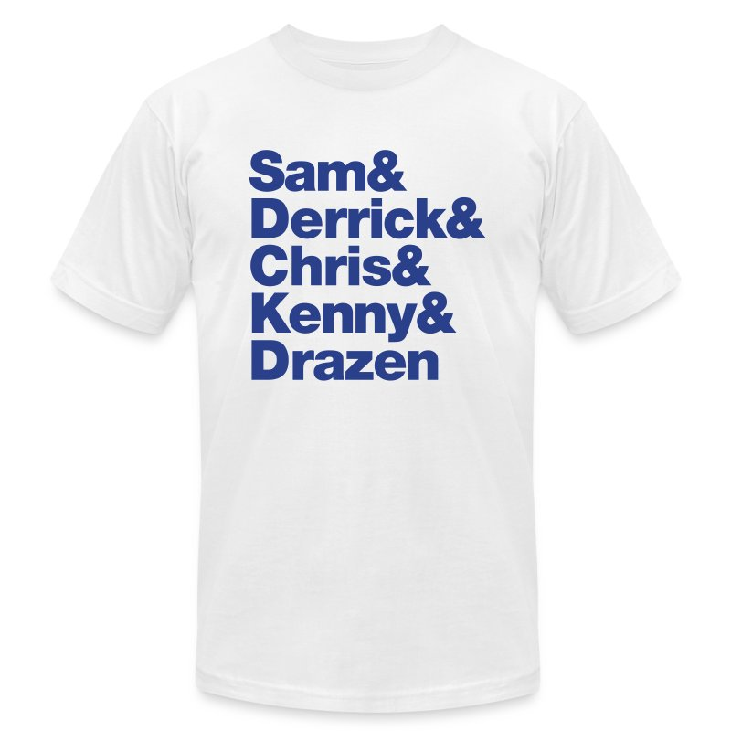 david_sam - Men's T-Shirt by American Apparel