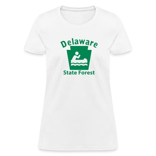 Delaware State Forest Keystone Boat - Women's T-Shirt