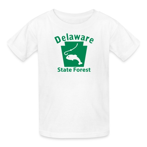 Delaware State Forest Keystone Fish - Kids' T-Shirt