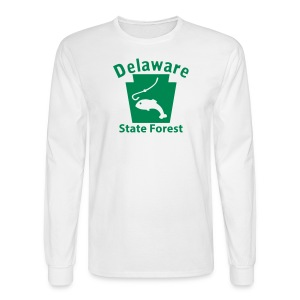 Delaware State Forest Keystone Fish - Men's Long Sleeve T-Shirt