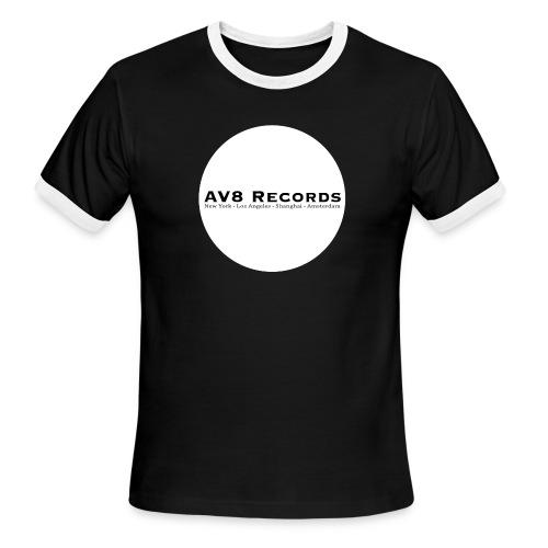 AV8 Round Ringer - Men's Ringer T-Shirt