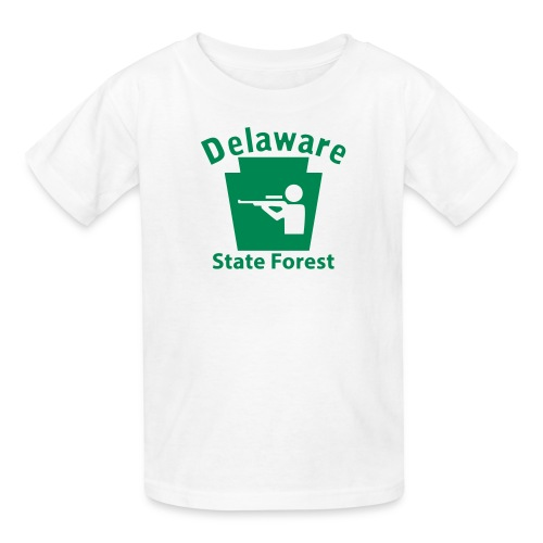 Delaware State Forest Keystone Hunt - Kids' T-Shirt