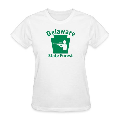 Delaware State Forest Keystone Hunt - Women's T-Shirt
