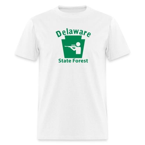 Delaware State Forest Keystone Hunt - Men's T-Shirt