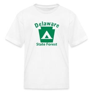 Delaware State Forest Keystone Camp - Kids' T-Shirt