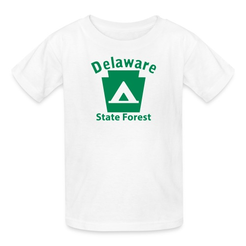 Delaware State Forest Keystone Camp - Kids' T-Shirt