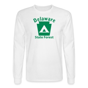 Delaware State Forest Keystone Camp - Men's Long Sleeve T-Shirt