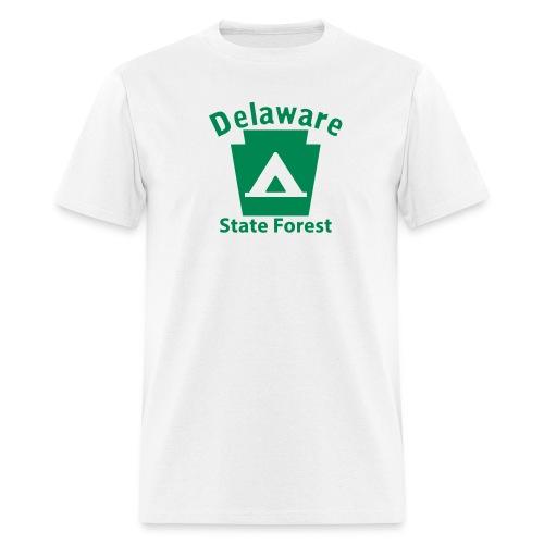 Delaware State Forest Keystone Camp - Men's T-Shirt