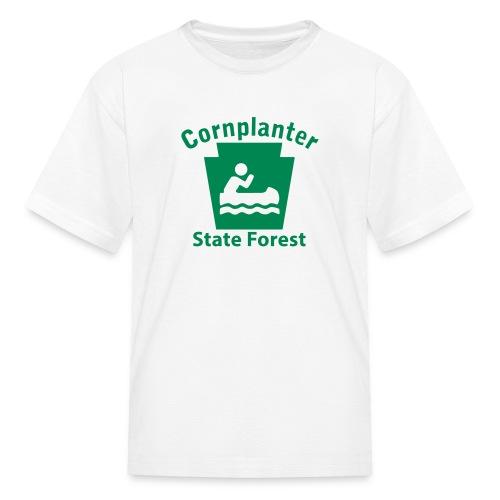 Cornplanter State Forest Keystone Boat - Kids' T-Shirt