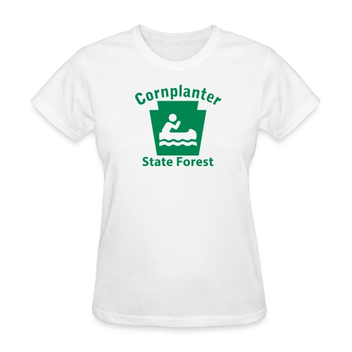 Cornplanter State Forest Keystone Boat - Women's T-Shirt