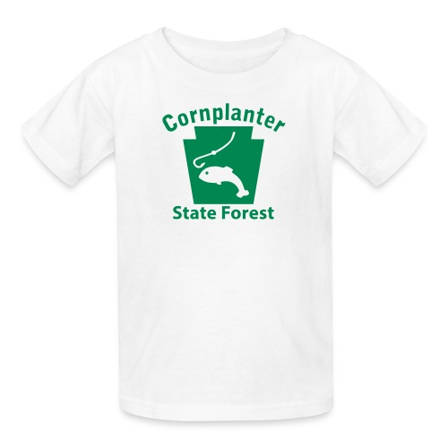 Cornplanter State Forest Keystone Fish - Kids' T-Shirt