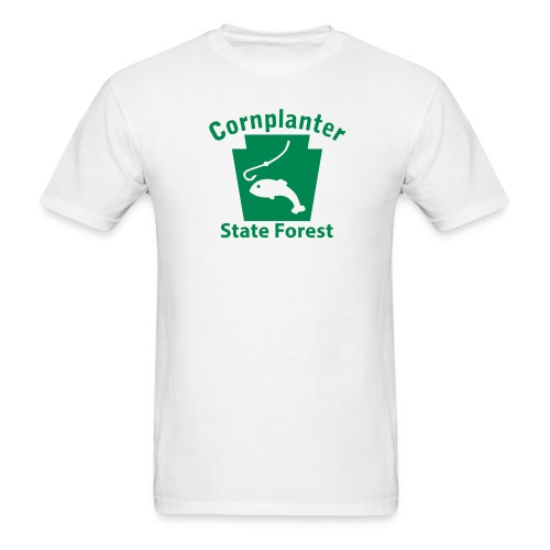 Cornplanter State Forest Keystone Fish - Men's T-Shirt