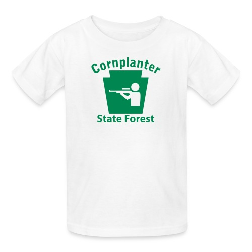 Cornplanter State Forest Keystone Hunt - Kids' T-Shirt