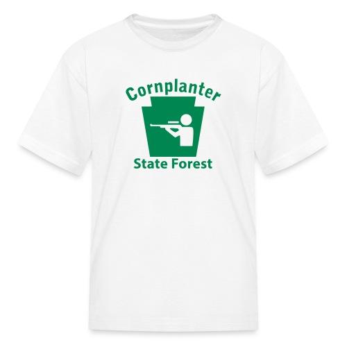Cornplanter State Forest Keystone Hunt - Kids' T-Shirt