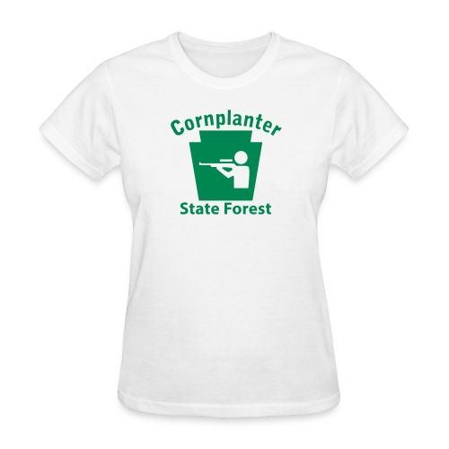 Cornplanter State Forest Keystone Hunt - Women's T-Shirt