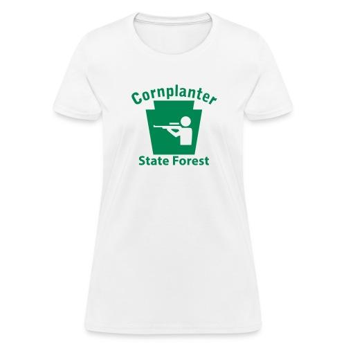 Cornplanter State Forest Keystone Hunt - Women's T-Shirt