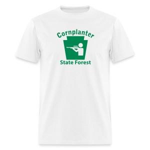 Cornplanter State Forest Keystone Hunt - Men's T-Shirt