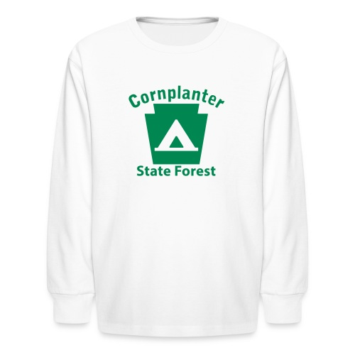 Cornplanter State Forest Keystone Camp - Kids' Long Sleeve T-Shirt