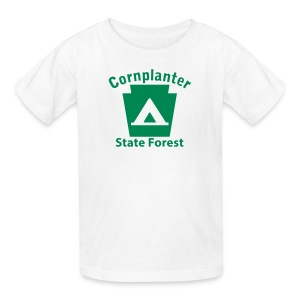 Cornplanter State Forest Keystone Camp - Kids' T-Shirt
