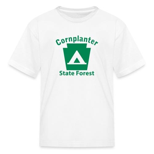Cornplanter State Forest Keystone Camp - Kids' T-Shirt