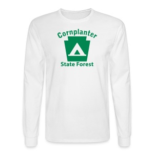 Cornplanter State Forest Keystone Camp - Men's Long Sleeve T-Shirt