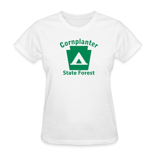 Cornplanter State Forest Keystone Camp - Women's T-Shirt