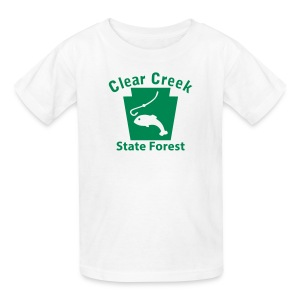 Clear Creek State Forest Keystone Fish - Kids' T-Shirt