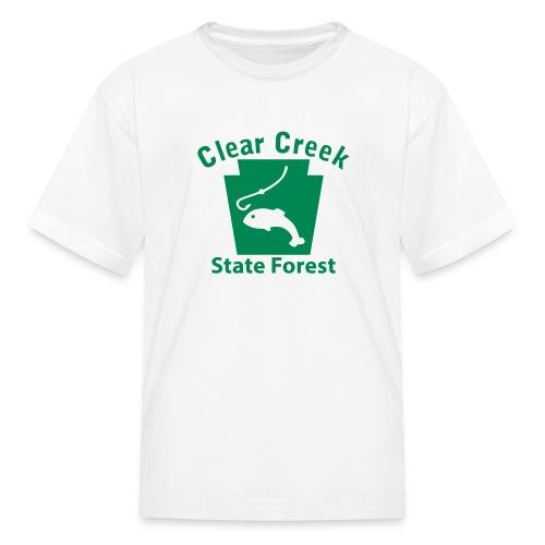 Clear Creek State Forest Keystone Fish - Kids' T-Shirt