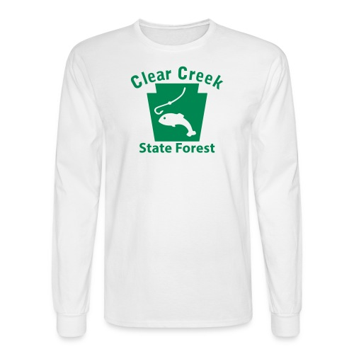 Clear Creek State Forest Keystone Fish - Men's Long Sleeve T-Shirt