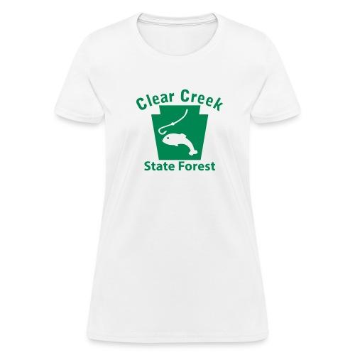 Clear Creek State Forest Keystone Fish - Women's T-Shirt