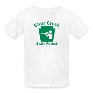 Clear Creek State Forest Keystone Hunt - Kids' T-Shirt