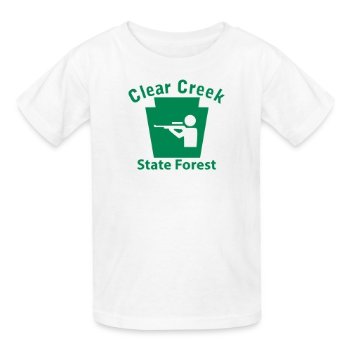 Clear Creek State Forest Keystone Hunt - Kids' T-Shirt
