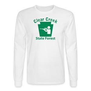 Clear Creek State Forest Keystone Hunt - Men's Long Sleeve T-Shirt