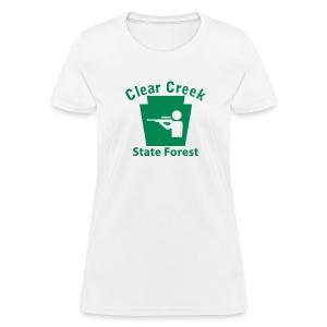 Clear Creek State Forest Keystone Hunt - Women's T-Shirt