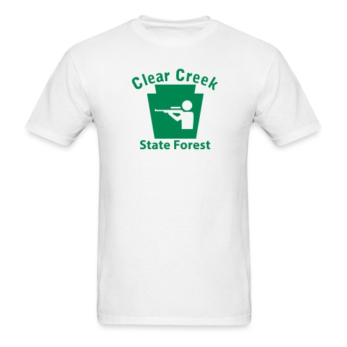 Clear Creek State Forest Keystone Hunt - Men's T-Shirt
